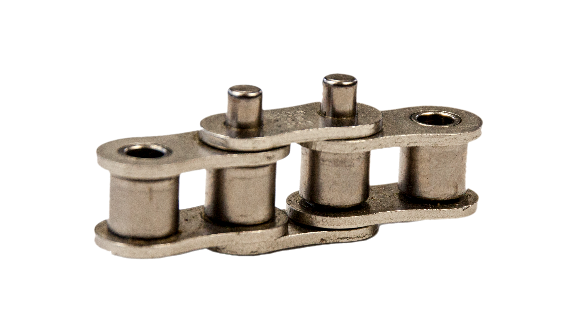 Einfach-Rollenkette (Simplex), mit einseitig verlängerten Bolzen