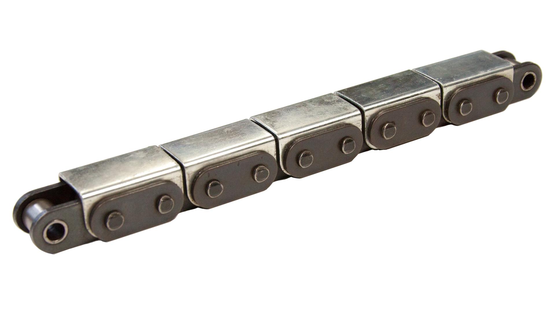 Einfach-Rollenkette (Simplex), mit geraden Laschen und U-Bügel (2)