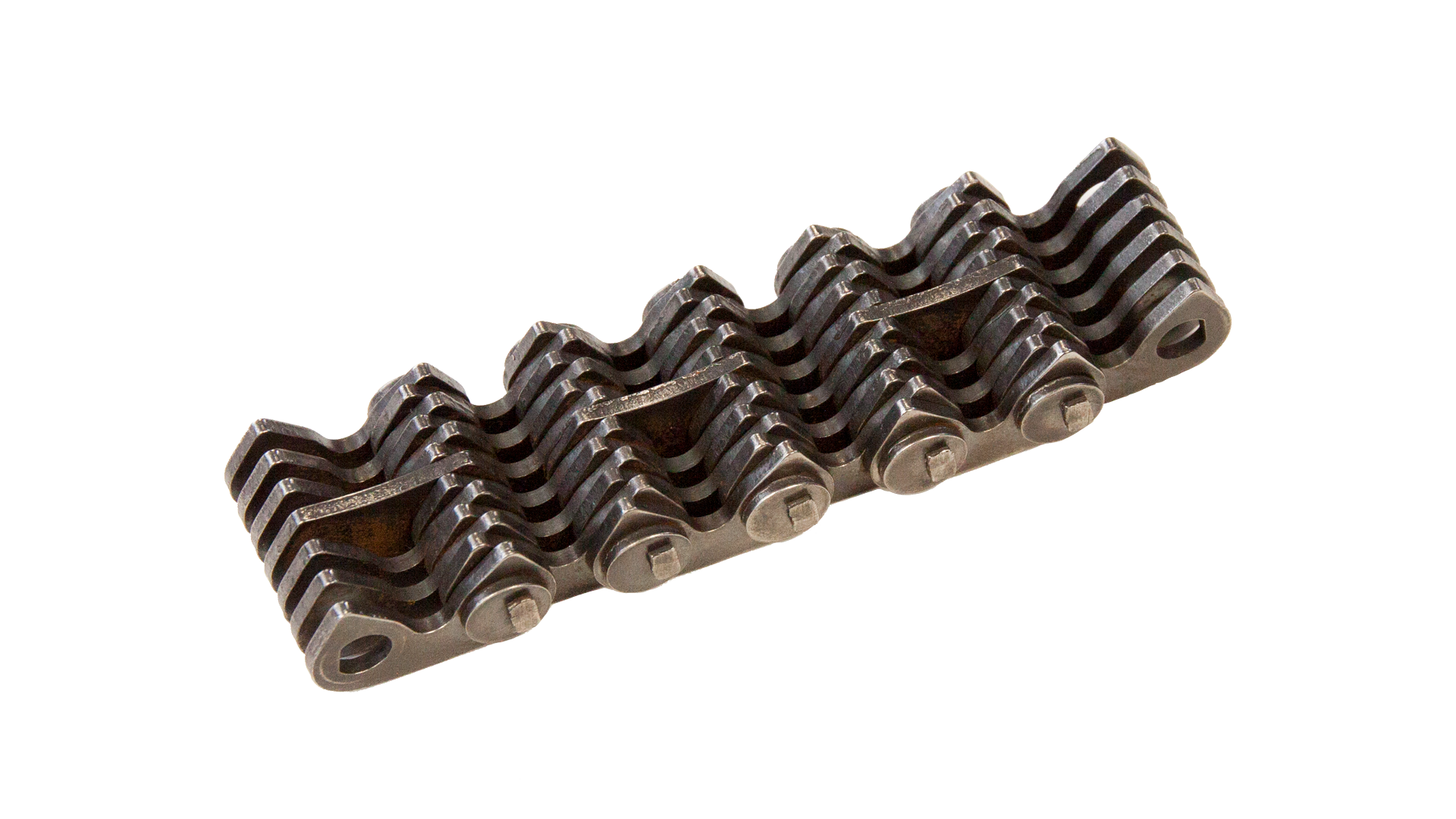 Zahnkette, mit 2-Zapfengelenk und Innenführung (2)